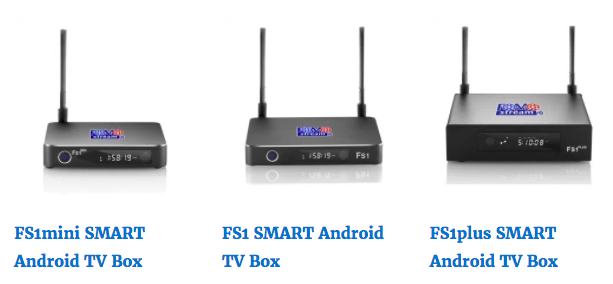 FOMOstream® Android TV Box Models